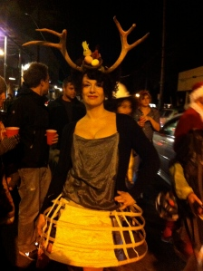 Lady Deer on Frenchmen St, NOLA