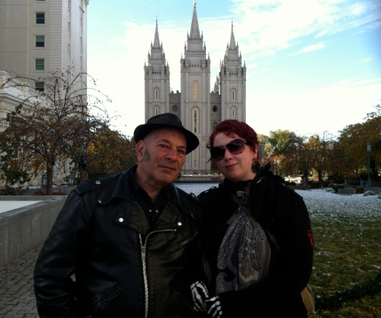 Kenny and I in Salt Lake City 2011
