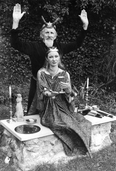 Janet and Stewart Farrar