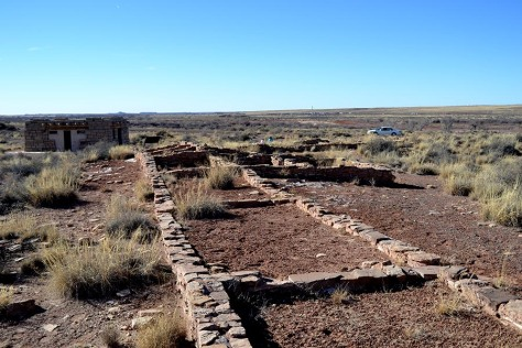 The Puerco Pueblo probably housed around 200 people at one time.