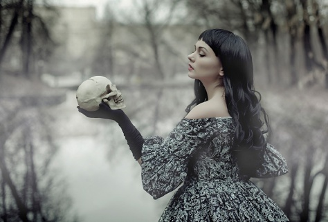 sorry, I don't generally contemplate skulls as witchily romantic as it might seem. Sleepy Hollow - Wise Woman by Raskolnikova-Sonya)