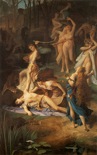 378px-death_of_orpheus_by_emile_levy_1866